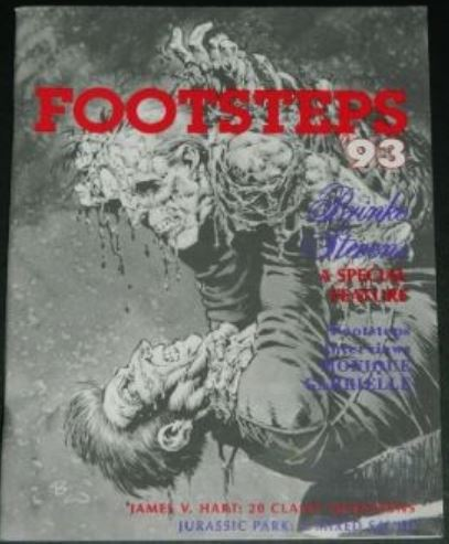 Footsteps '931993 cover, ad
