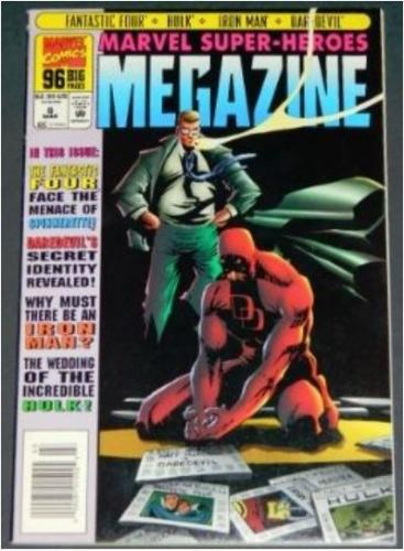 Marvel Super-Heroes Megazine #63/95 Splash page