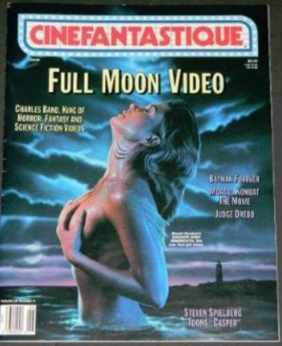 "Cinefantastique Vol.26 #46/95 article and 2 paintings for ""Space Truckers"""