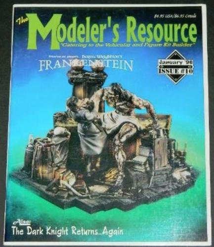 Modelers Resource #101/96 cover, 4pg. article, ad, photo