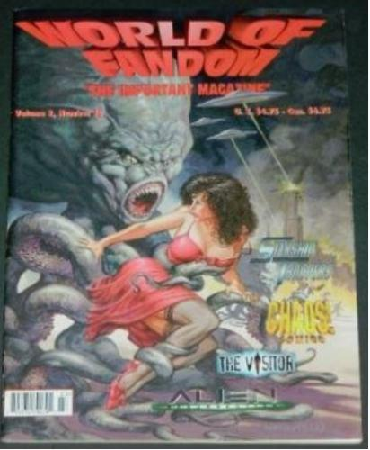 World of Fandom Vol.2 #30Fall 1997 cover