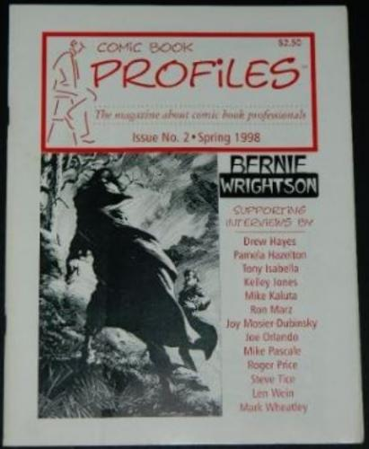 Comic Book Profiles #2Spring 1998 - all Bernie
