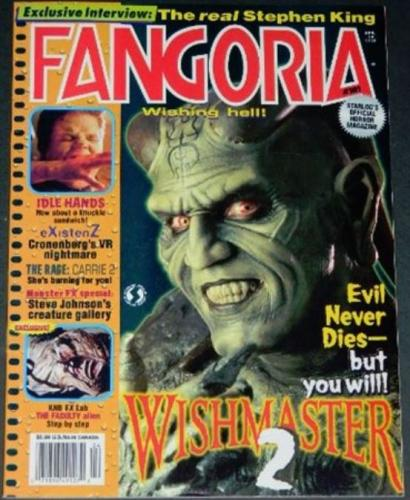 "Fangoria #1814/99 - ""The Faculty"" article"