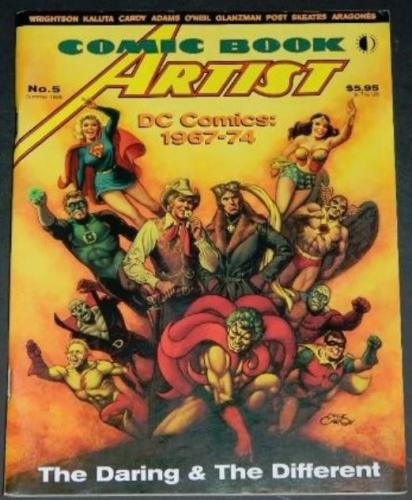 Comic Book Artists #5Summer 1999 Article on DC in the 70's