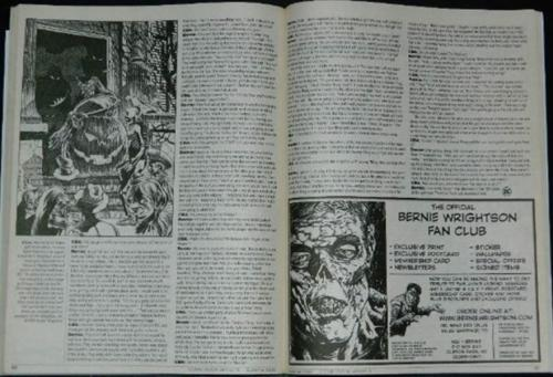 Comic Book Artists #5Article on DC in the 70's, Fan Club ad