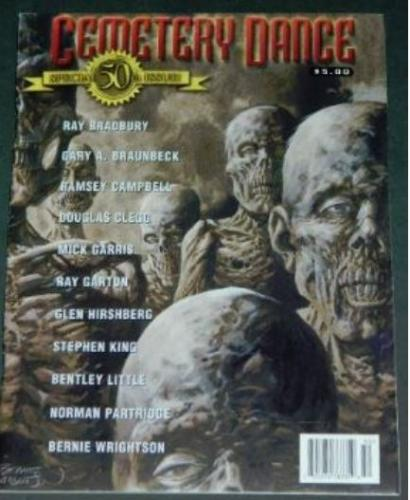 Cemetery Dance 50th Issue10/04 cover