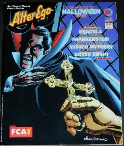 Alter Ego #5310/05 Halloween issue w/ art