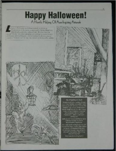 Alter Ego #53Halloween issue w/ art