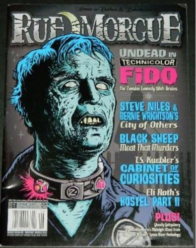 "Rue Morgue #686/07 - 5pgs. on ""City of Others"""