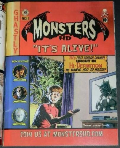 Rue Morgue #68Monsters HD ad