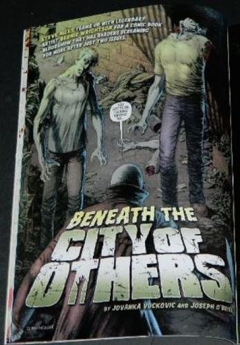 "Rue Morgue #685pgs. on ""City of Others"""