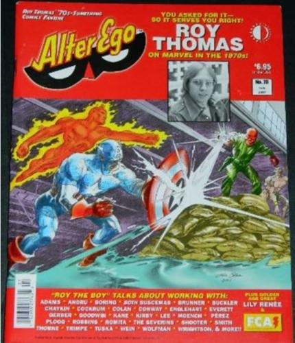 Alter Ego #707/07 Roy Thomas article w/ art