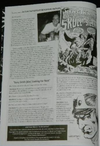 Alter Ego #70Roy Thomas article w/ art