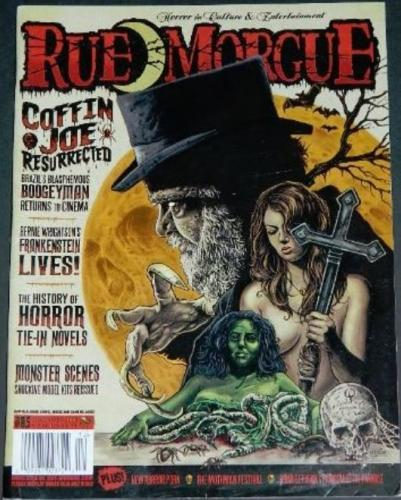 Rue Morgue #8512/08 - New Frankenstein book article