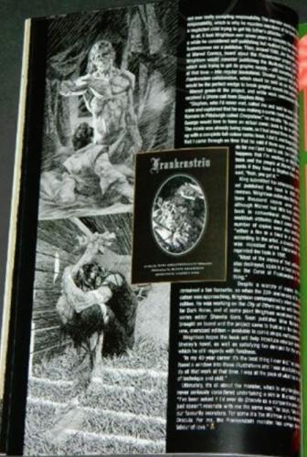 Rue Morgue #85New Frankenstein book article