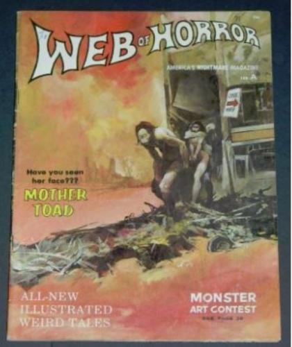 "Web of Horror #22/70 ""Mother Toad"", ""Breathless"""