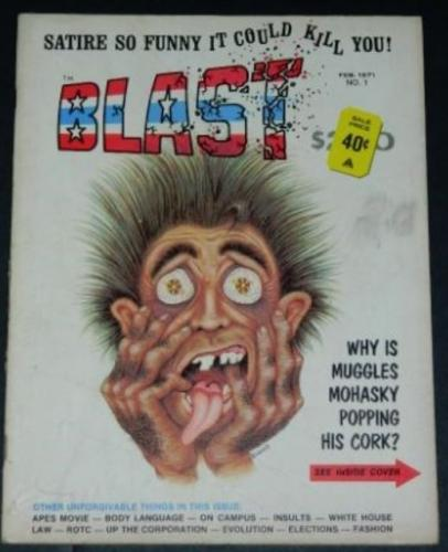 "Blast #12/71 ""Beneath the Planet of the Apes"" w/ Marv Wolfman"