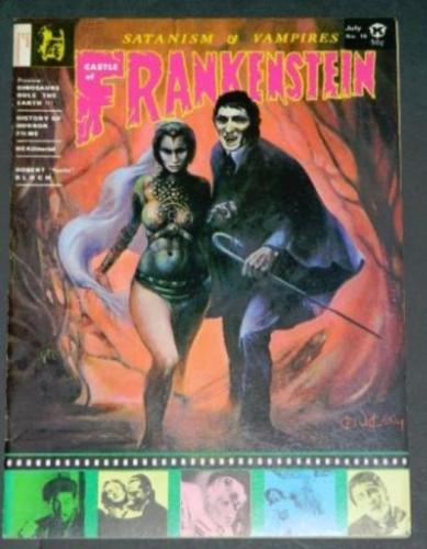 "Castle of Frankenstein #107/71 ""A Case of Conscience"""