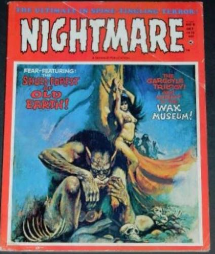 Nightmare #910/72 back cover