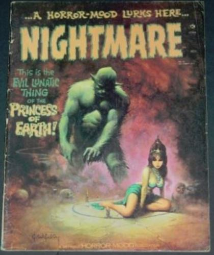 Nightmare #1012/72 back cover