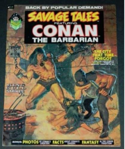 "Savage Tales Conan Thr Barbarian10/73 ""Skull of Silence"""