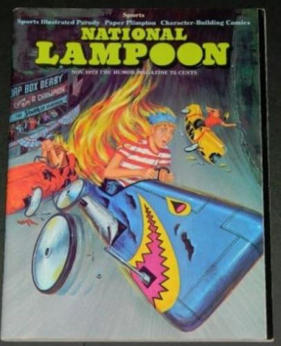"National Lampoon11/73 ""Bat Day"" centerfold"