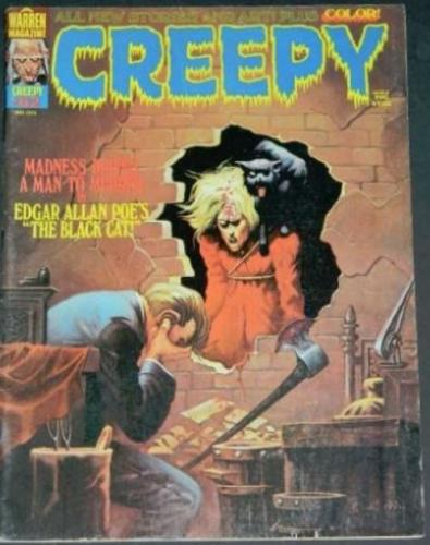 "Creepy #625/74 ""The Black Cat"", Frontis"