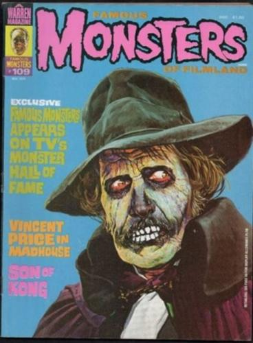 Famous Monsters #1098/74 Fang Mail Letterhead