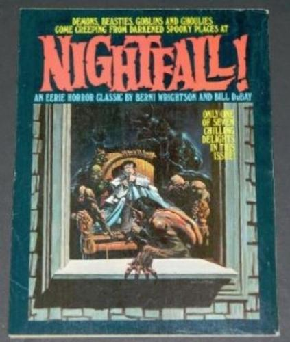 "Eerie #60""Nightfall"" back cover"