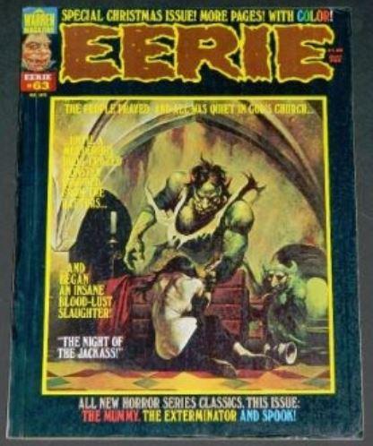 Eerie #632/75 Frontis