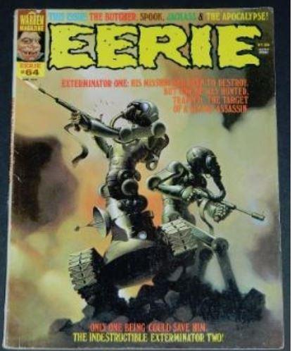 Eerie #648/74 Frontis