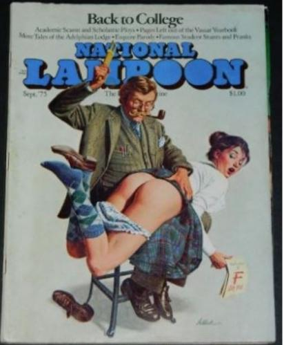 "National Lampoon9/75 ""Thrilling Amazing Fantastic Adventures"" w/Preiss"