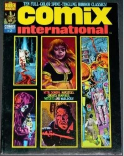 "Comix International #21975 ""The Muck Monster"" color"