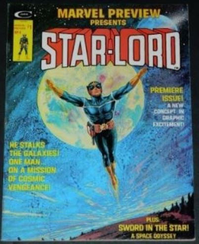Marvel Preview Presents Star-Lord #41/76 Frontis