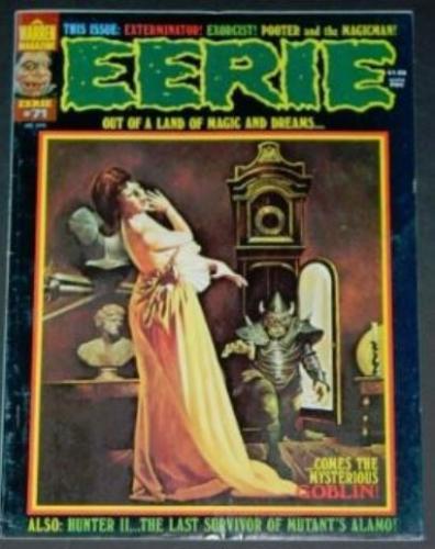 Eerie #711/76 Frontis