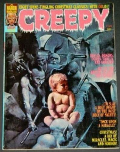 """Creepy #772/76 """"Clarice, Frontis"""