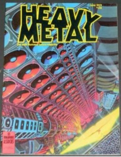 "Heavy Metal6/79 ""An East Wind Coming"""