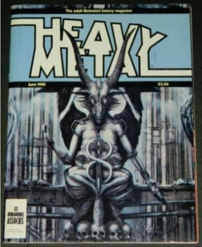 "Heavy Metal6/80 9pg. ""Captain Sternn Featuring Hanover Fiste"""