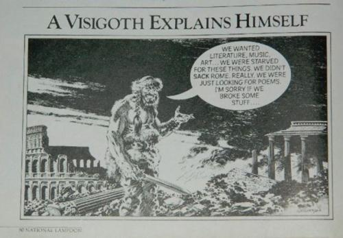 "National Lampoon""A Visigoth Explains Himself"""
