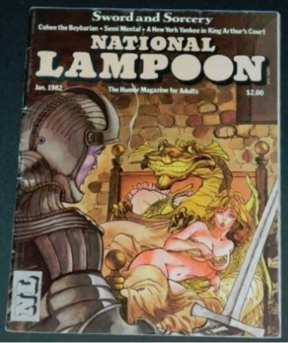 "National Lampoon1/82 ""Bewitched"""
