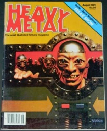 "Heavy Metal8/82 - 9pgs. ""Freak Show"" pt.1"