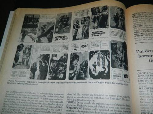 Comics Journal #7634pg. interview