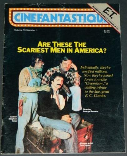 Cinefantastique Vol. 13 #110/11 1982 back cover