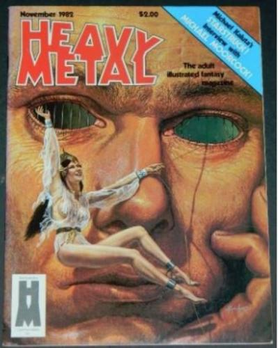 "Heavy Metal11/82 - 9pgs. ""Freak Show"" pt.4, 8pgs. ""Class Reunion"""