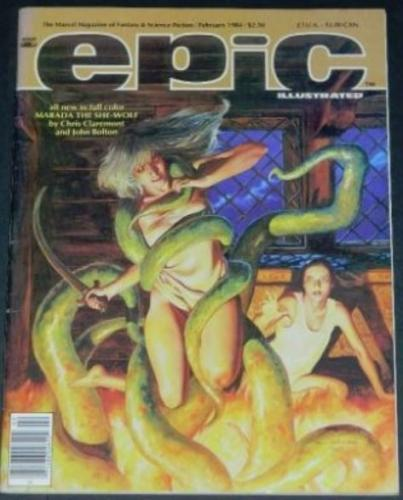 Epic Illustrated2/84 - 8pgs. Frankenstein