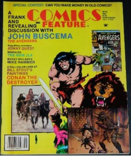 Comics Feature #319/84 The Swamp Thing Papers