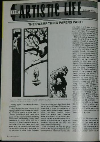 Comics Feature #31The Swamp Thing Papers