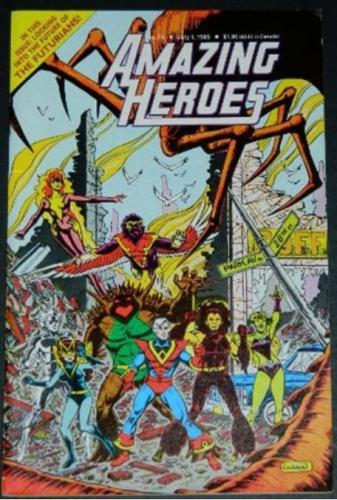 Amazing Heroes #747/85 Benefit page