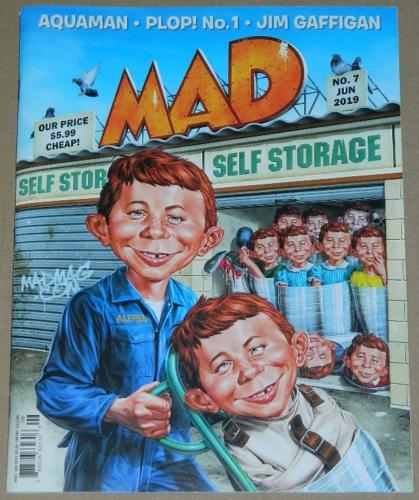 Mad Magazine No.7Jun 2019Plop #1 insert