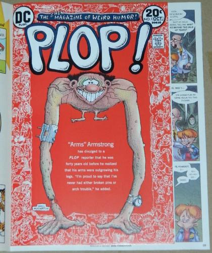 Mad Magazine No.7Jun 2019Plop #1 insert - full comic